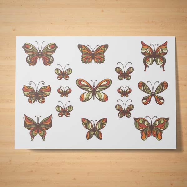 l 39 envole des papillons tatwotoi. Black Bedroom Furniture Sets. Home Design Ideas